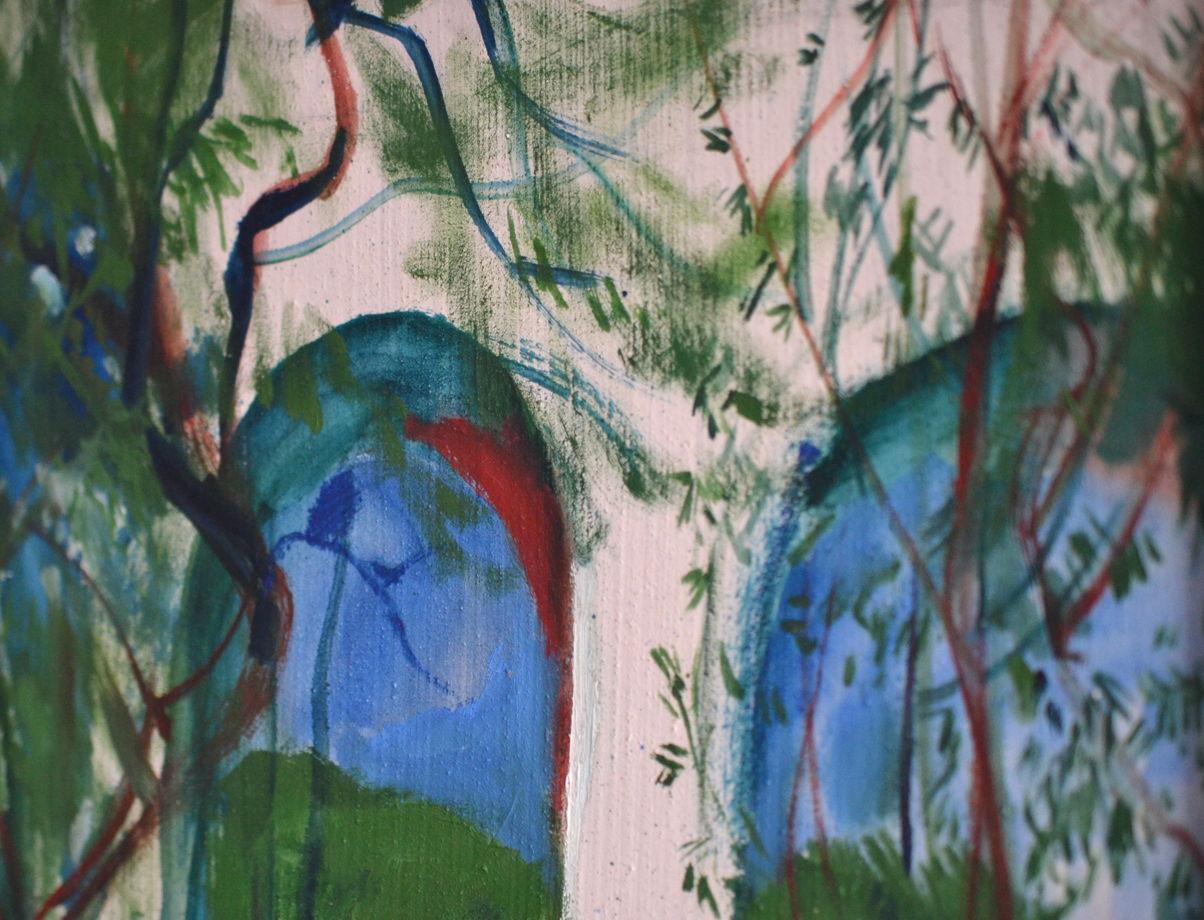 """Картина """"Акведук"""" в деревянной раме"""