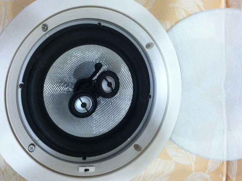 Earthquake Ceiling Speakers CM 8S 1 PAIR