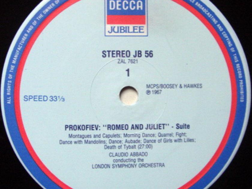 DECCA JUBILEE / ABBADO, - Prokofiev Romeo & Juliet, MINT!