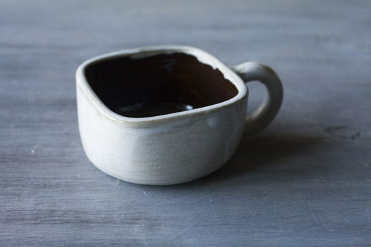 Квадратные низкие чашки