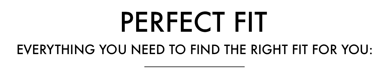 The Perfect Fit - Everything you need to find the right eyewear fit for you