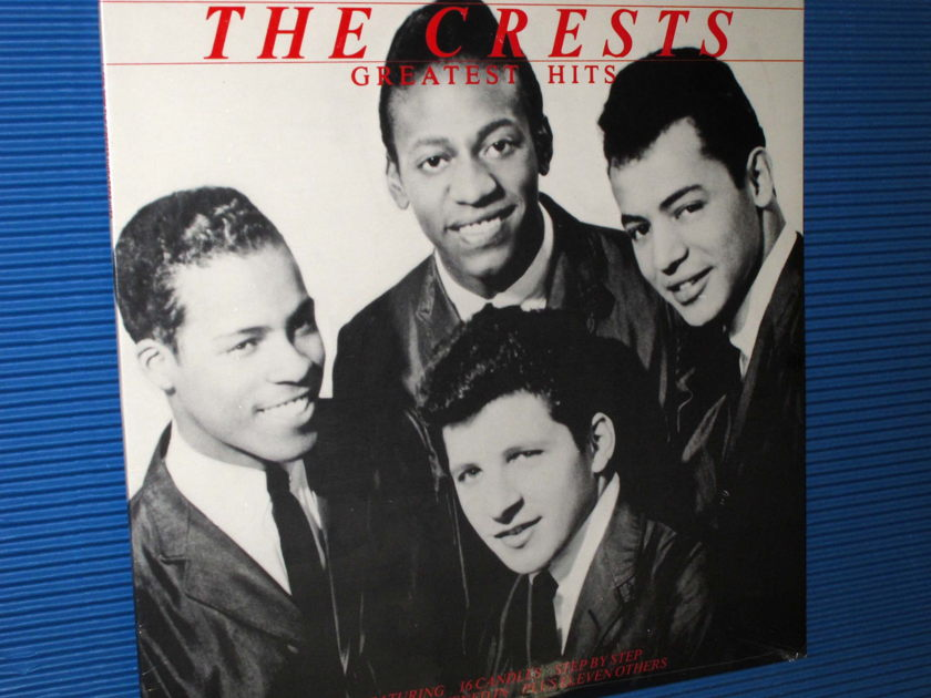 """THE CRESTS (Johnny Maestro) -  - """"Greatest Hits"""" - Collectables 1982 Sealed!"""