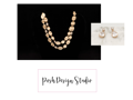Necklace and Earring Set from Posh Design Studio