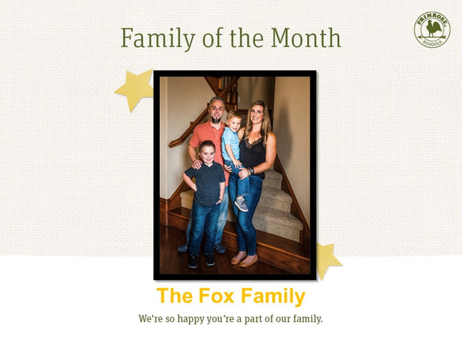 Fox Family of the Month
