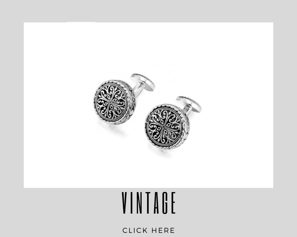 Corporate Custom Vintage Cufflinks