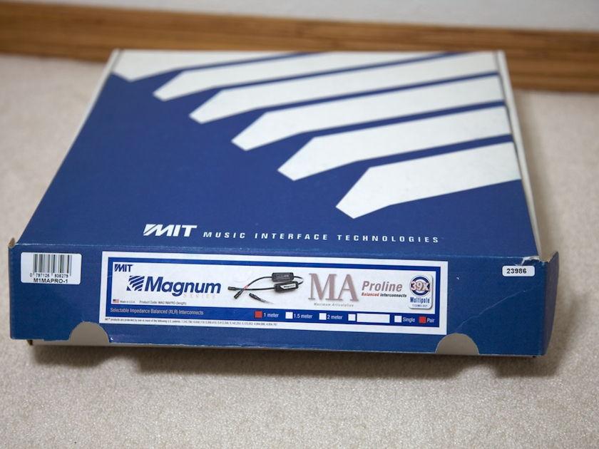 MIT Cables MAGNUM MA Pro-line Balanced