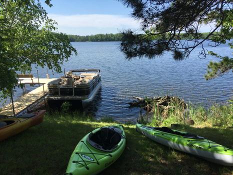 Long Weekend at Lake Cabin in Hayward, WI
