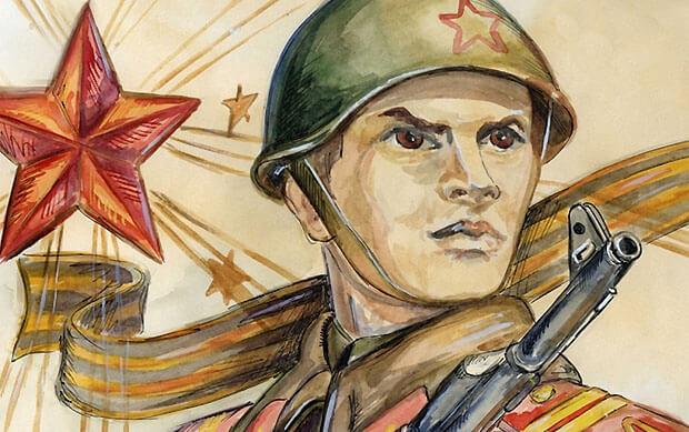 «Радио Дача - Новосибирск» подарит призы за детские рисунки на тему победы в Великой Отечественной войне - Новости радио OnAir.ru