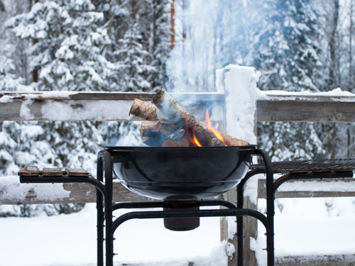 5 tips for a winter barbecue on your terrace