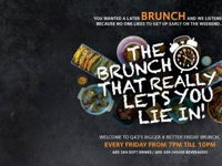 THE BRUNCH THAT REALLY LET'S YOU LIE IN image
