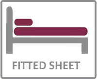 Fitted sheet size