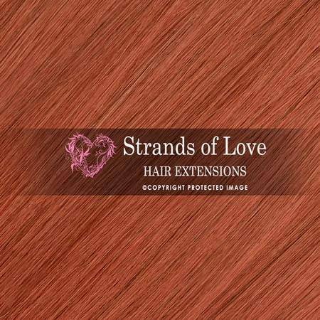 Strands Of Love Hair Extensions Colour Ginger Spice