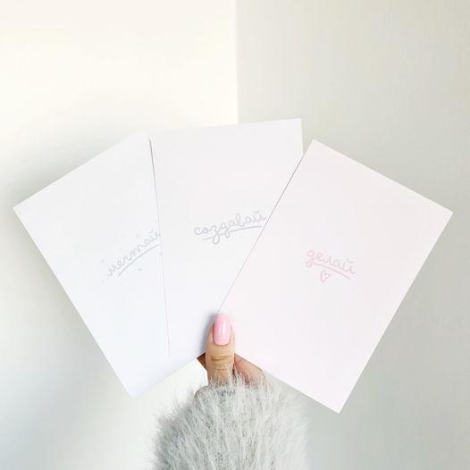 Мотивирующая коллекция открыток