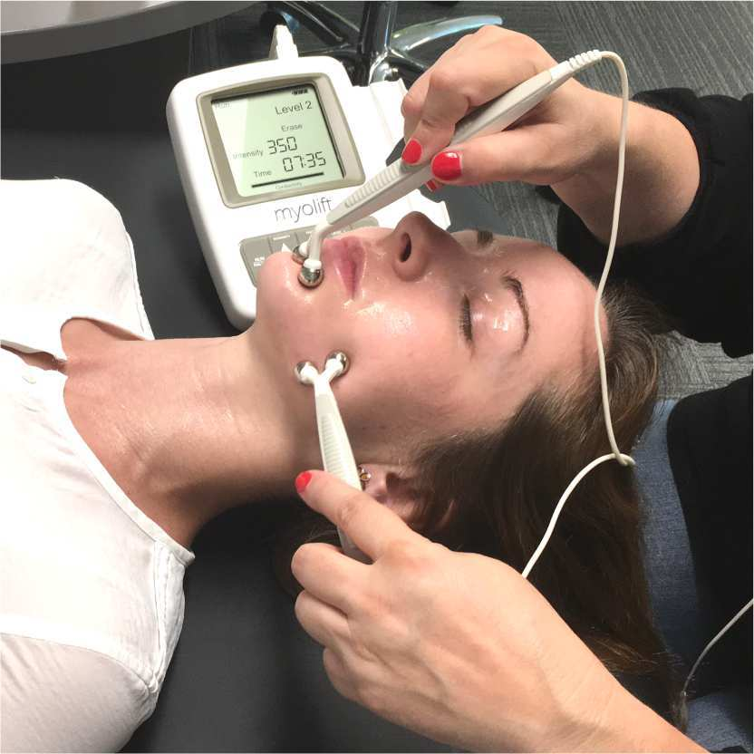 recommended microcurrent treatment for best skin lifting and toning results