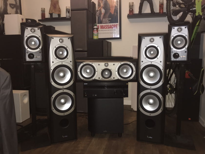 Infinity Alpha 50 Home Theater Audiogon