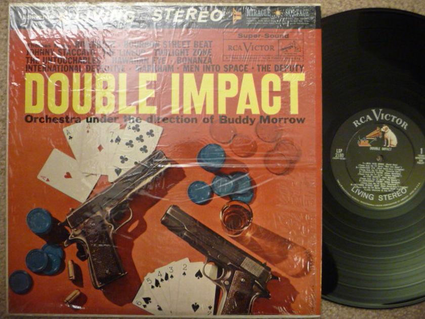 DOUBLE IMPACT  - BUDDY MORROW RCA AUDIOPHILE LP
