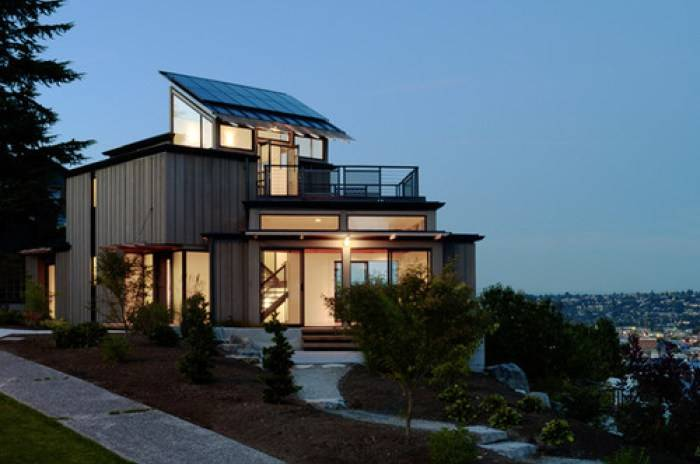 Solar House in Seattle