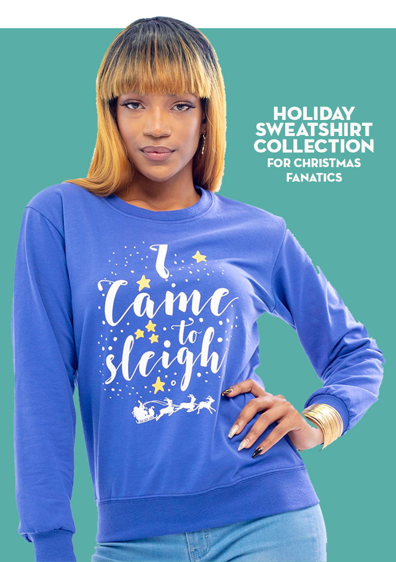 Holiday Gift Guide - Holiday Lightweight Sweatshirt Collection