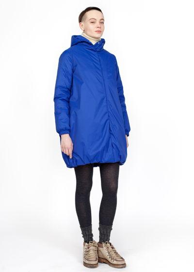 ультрамариновая зимняя куртка
