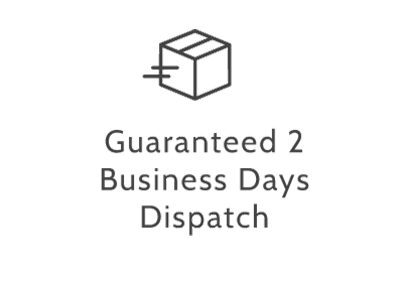 guaranteed two business days dispatch