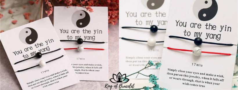 Bracelet d'Amitié Yin & Yang - King of Bracelet