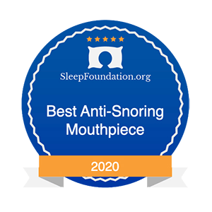 Sleep Foundation award to zquiet for best anti-snoring mouthpiece of 2020