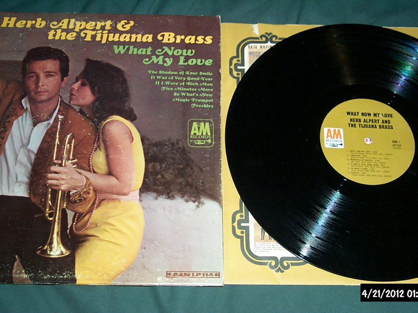 Herb Alpert  & Tijuana Brass - What Now My Love M0NO LP NM