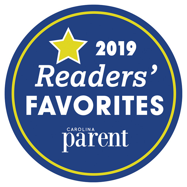 Best Preschool and Child Care Facility Award from Carolina Parent Magazine