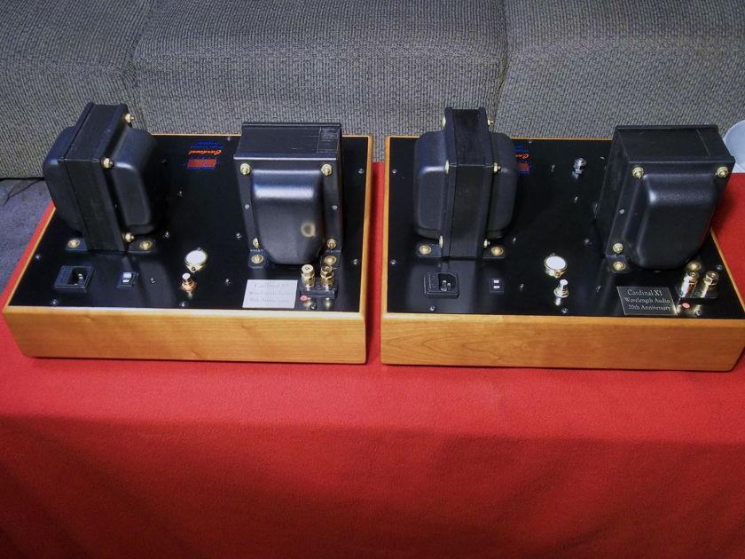 Wavelength Audio Cardinal X-1 20th Anniv. fine 300B mono amps