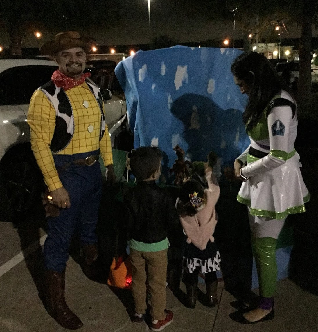 tunk-or-treat, trick-or-treating, family, daycare, child care, infant, toddler, preschool, prekindergarten, clear lake, 77062