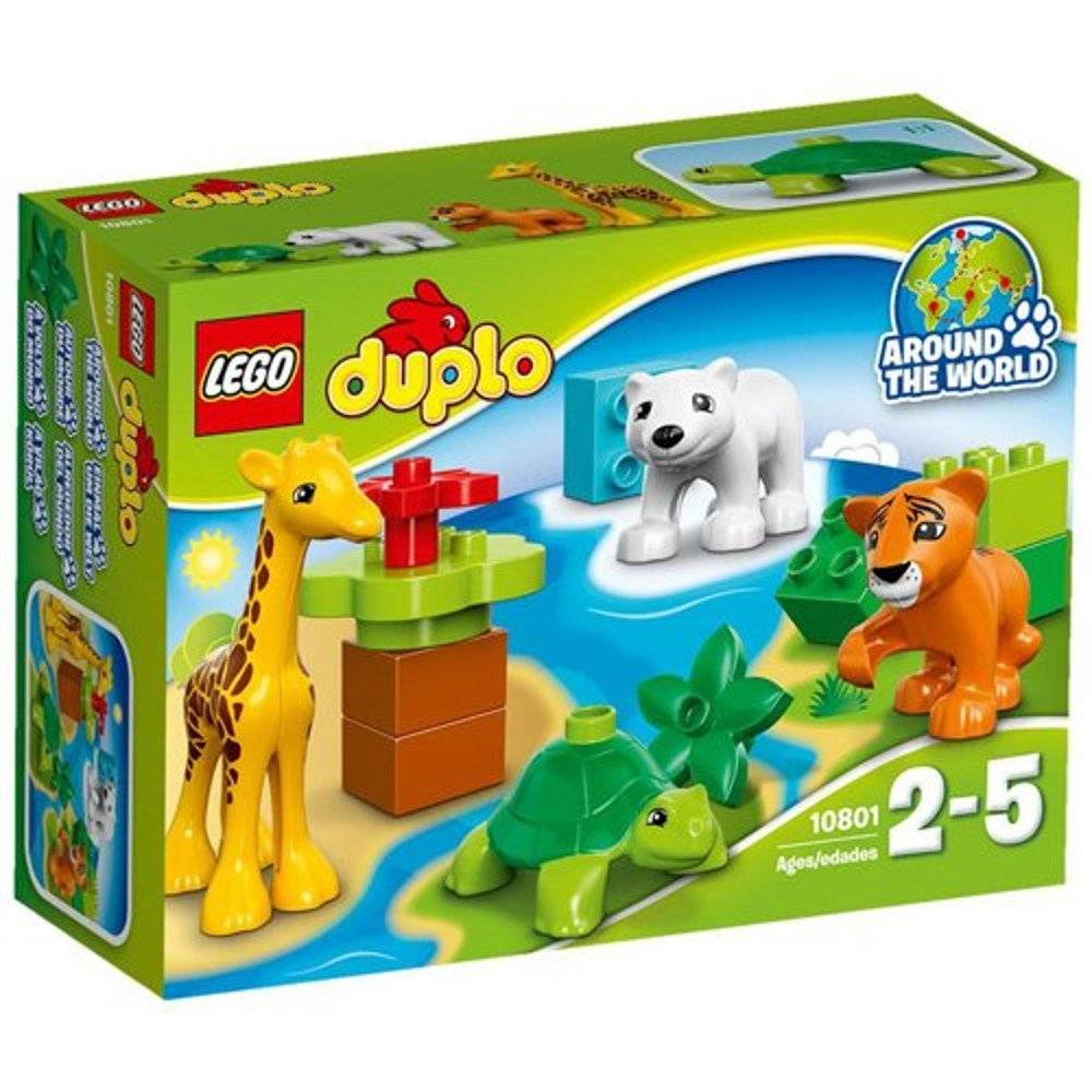 Baby Animals Lego Duplo 10801