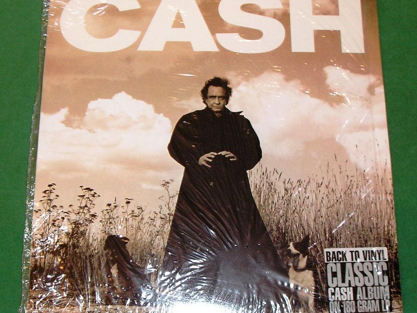 """JOHNNY CASH  """"AMERICAN RECORDINGS"""" - 180 GRAM UK IMPORT *** NM 9/10 ***"""