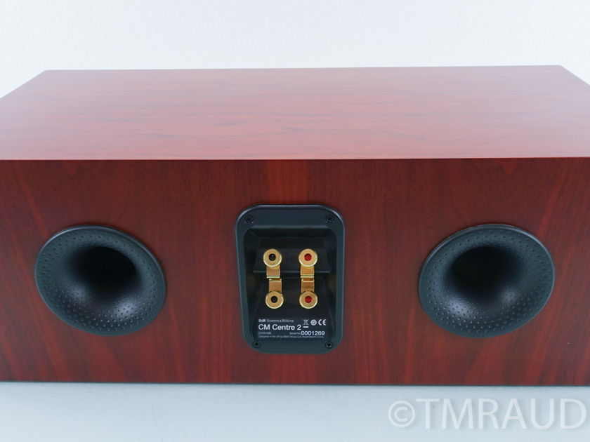 B&W CMC 2; CM Centre 2 Center Channel Speaker; Rosenut (9175)