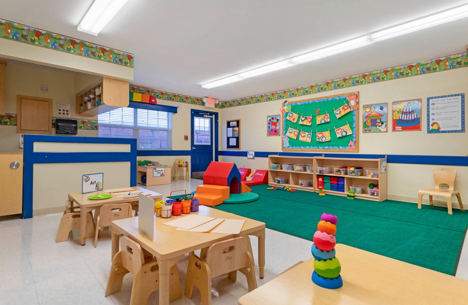 Photo of one of the large, open classrooms at Primrose School of Clear Lake, daycare and preschool in Clear Lake, TX 77062