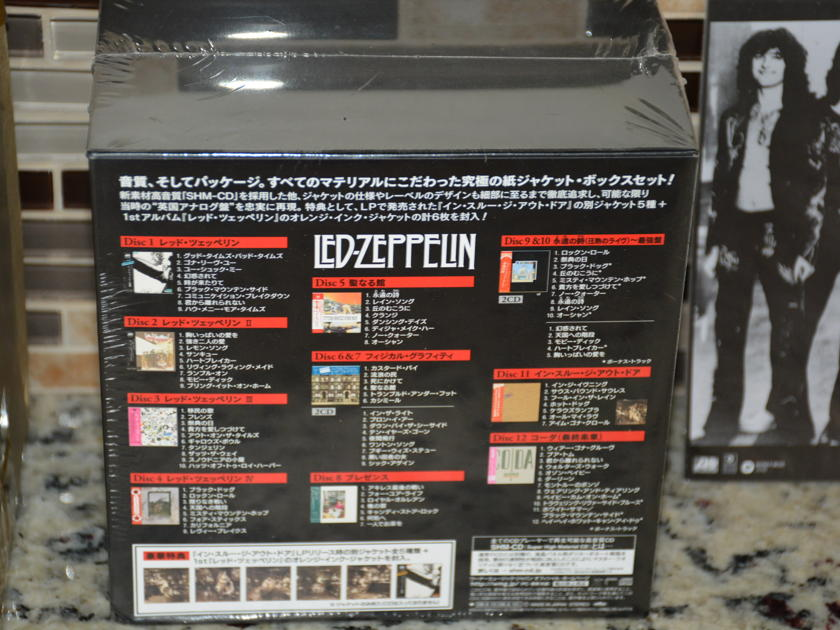 Led Zeppelin - Definative Collection 12 Mini Disc SHM-CD