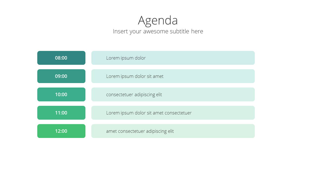 Modern X Marketing Plan Presentation Template Agenda