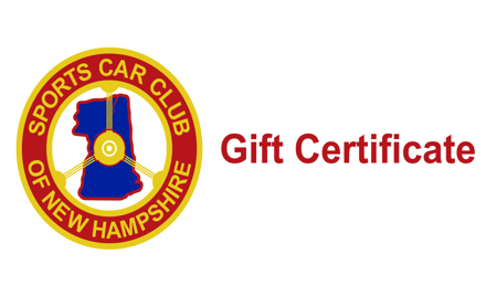 SCCNH Gift Certificate
