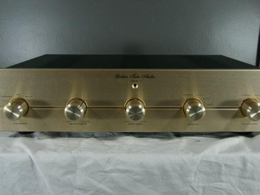 Golden Tube Audio SEP-1 Tube Linestage Preamp
