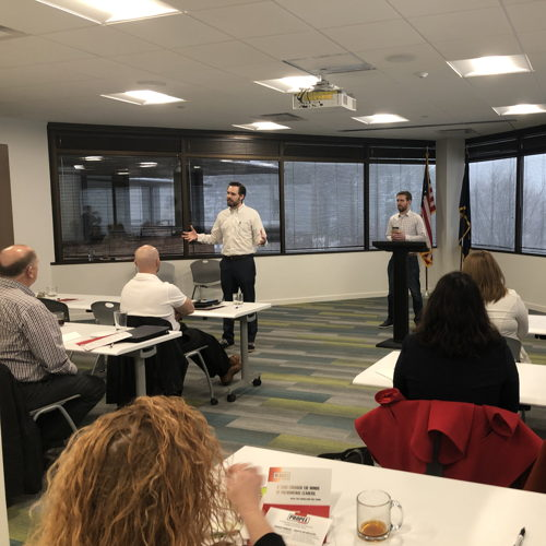 Picture of MindSet is pleased to partner with the Greater Omaha Chamber to level-up leaders and help companies further develop their culture.  This free Caffeine and Culture series is just one way we're making a difference.