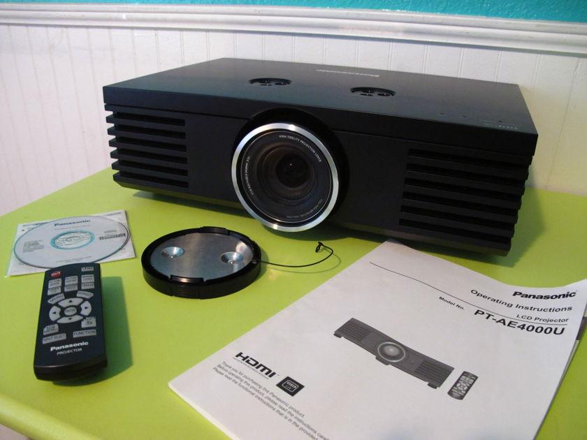 Panasonic  AE4000U 1080p Projector