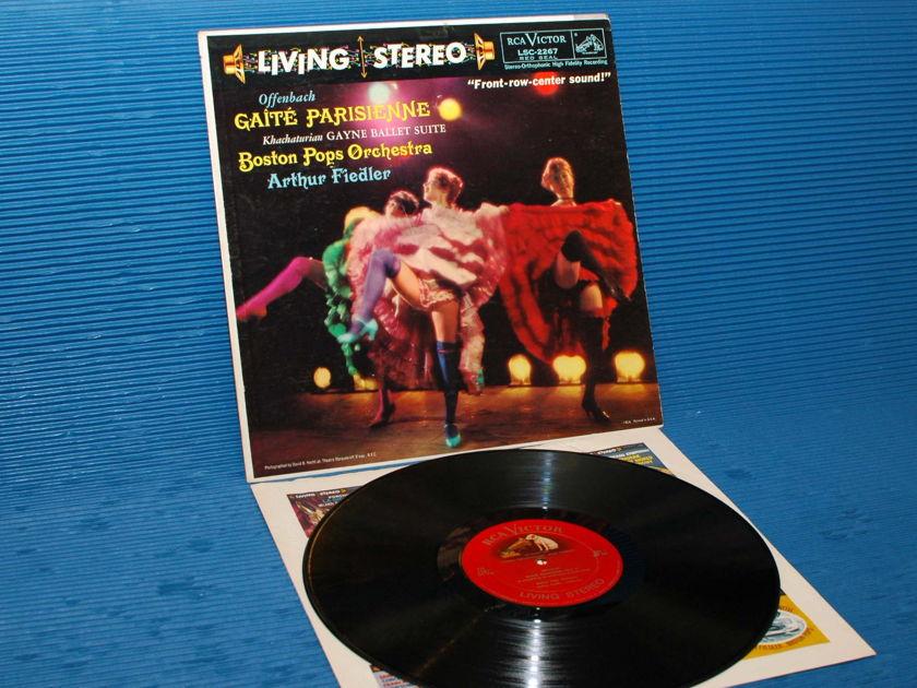 "OFFENBACH / Fiedler   - ""Gaite Parisienne"" -  RCA 'Shaded Dog' 1959"