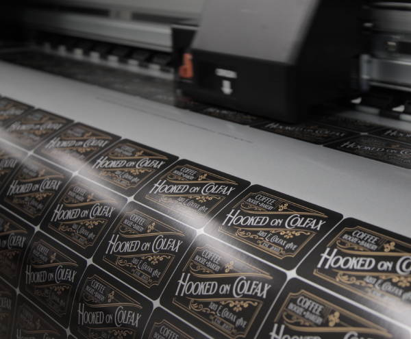 Stickers & Labels - Hooked On Colfax Labels