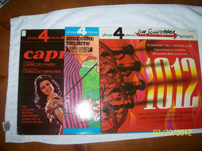 Phase 4 Stereo 5-pack - Capriccio!, 1812 Overture, Hair Goes Latin, Foreign Film Festival, Here Come the Hits