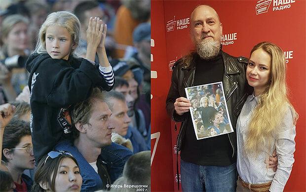 17 лет спустя: Героиня знаменитого снимка «НАШЕСТВИЯ-2002» - в гостях у «Подъемников» - Новости радио OnAir.ru