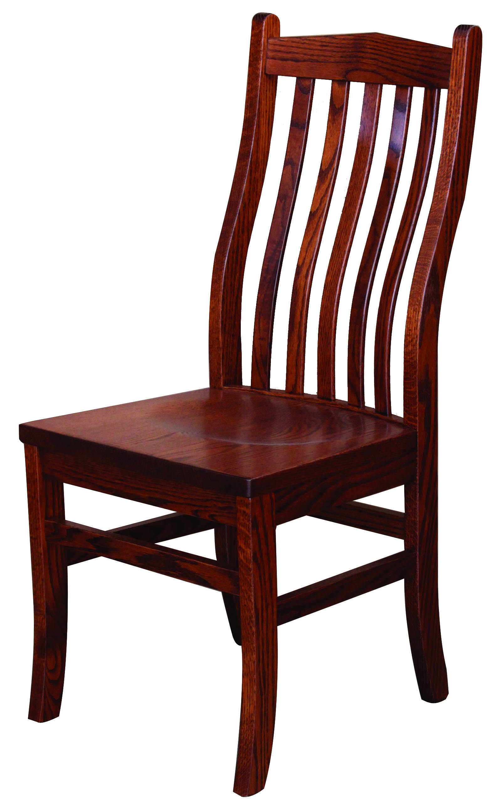 Lincoln Solid Wood, Handcrafted Kitchen Chair or DIning Chair from Harvest Home Interiors Amish Furniture