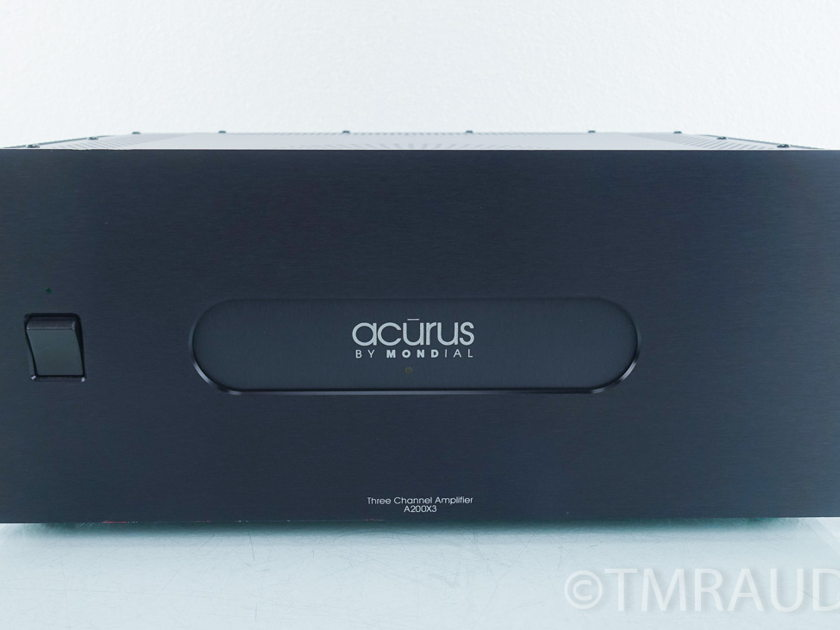 Acurus A200X3 3 Channel Power Amplifier (9324)