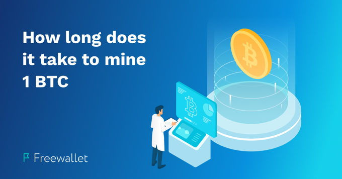 How long does it take to mine Bitcoin