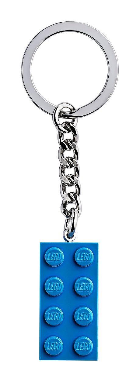 lego blue keyring