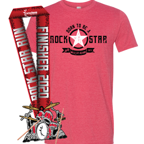 Picture of Run with us on May 16! Every participant earns a t-shirt and finisher medal.