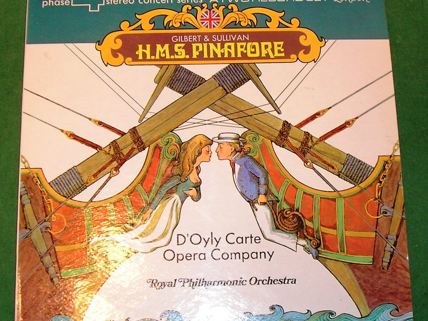 """GILBERT & SULLIVAN """"H.M.S. PINAFORE - 1971 LONDON PHASE 4 STEREO """"The MOST Maligned Production!"""""""